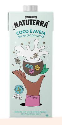 LEITE DE COCO E AVEIA 1 L - NATUTERRA