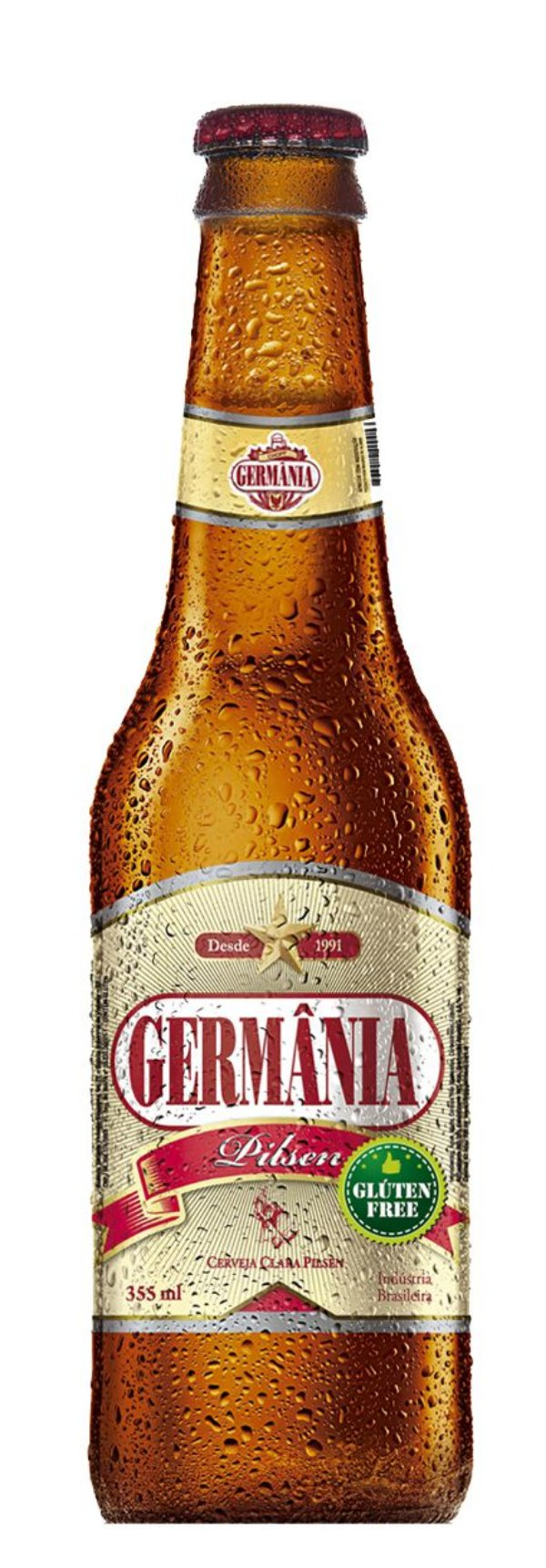 CERVEJA PILSEN GERMANIA S/ GLUTEN FARDO 6 X 355 ml