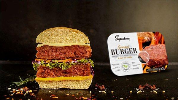 BURGER GOURMET VEGANO FOOD SERVICE (10 UNI) - SUPERBOM