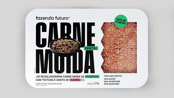 CARNE MOIDA DO FUTURO BANDEJA 270G - FAZENDA FUTURO