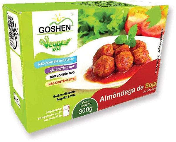 ALMONDEGA DE SOJA 300G - GOSHEN