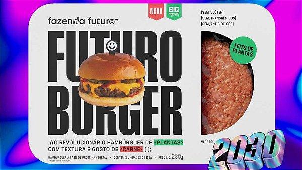 BURGER DO FUTURO BANDEJA 230g - FAZENDA FUTURO