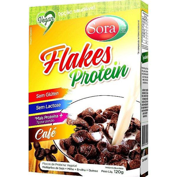FLAKES SABOR CAFE 120G - SORA