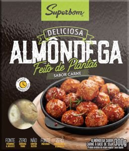 ALMONDEGA A BASE DE SOJA 300G - SUPERBOM