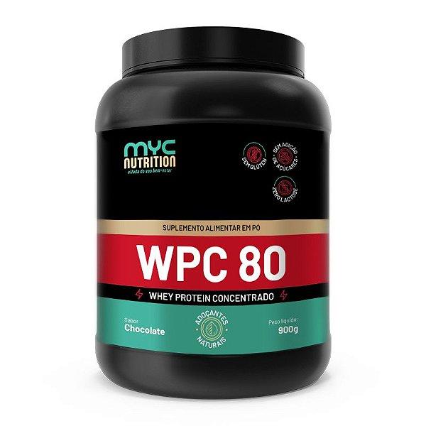 Whey Protein 80% Concentrado 900g - Myc Nutrition