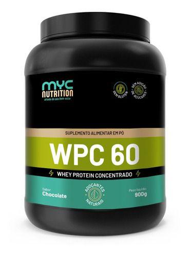 Whey Protein 60% Concentrado 900g - Myc Nutrition