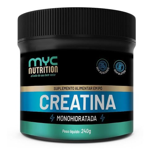 Creatina Monohidratada 240g