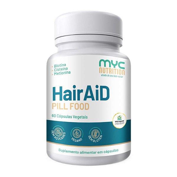 HairAiD 60 Cápsulas Vegetais - Myc Nutrition
