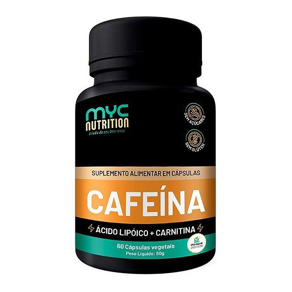 Cafeína 200mg Com Carnitina 60 Cápsulas Vegetais
