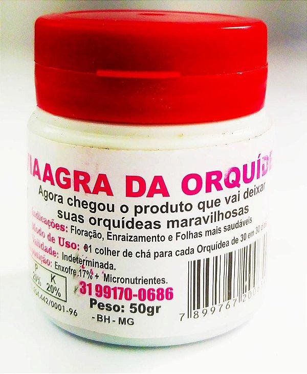 FERTILIZANTE   VIAAGRA DA ORQUÍDEA 50 GRAMAS