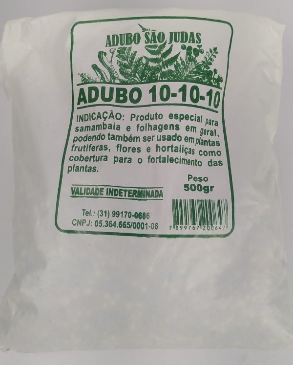 ADUBO FERTILIZANTE PARA PLANTAS 10-10-10