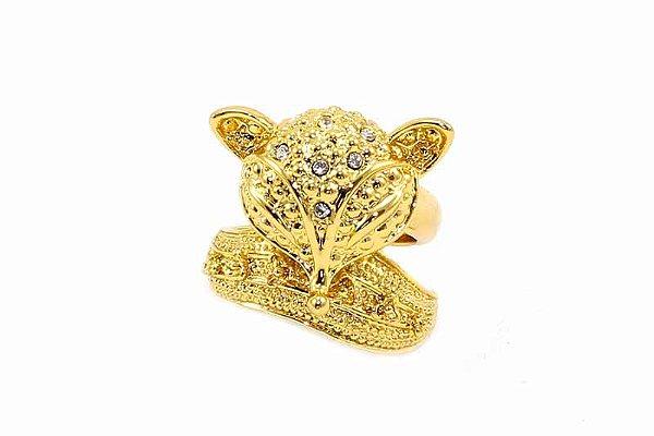 Anel Dourado Raposa