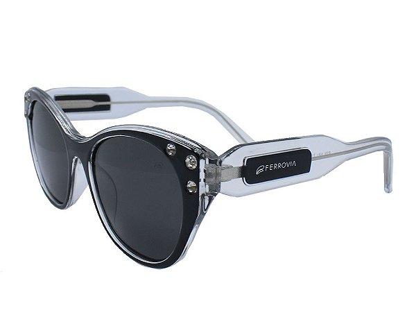 Óculos de Sol Ferrovia Acetato Proteção UVA/UVB