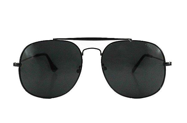 Óculos de Sol Unissex Metal com Proteção UVA/UVB