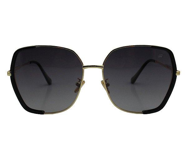 Óculos de Sol Ferrovia Armação de Metal Proteção UVA/UVB