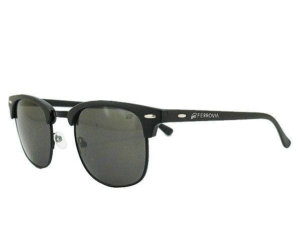 Óculos de Sol Ferrovia Armação de Acetato Proteção UVA/UVB