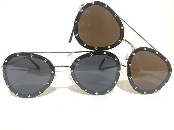 Óculos Aviador Tachinhas