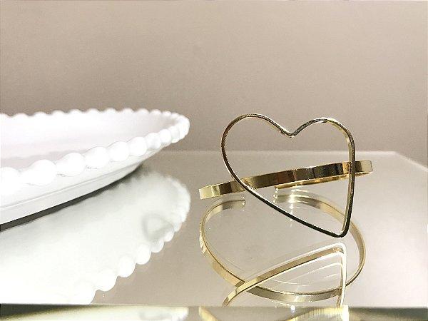 Bracelete Coração Vazado
