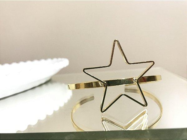Bracelete Estrela Vazada