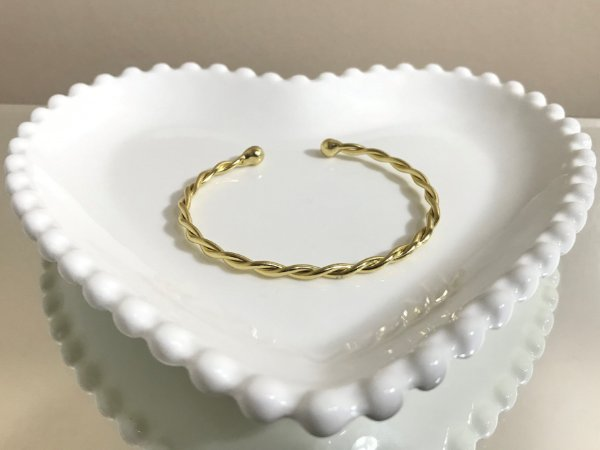 Bracelete Torcido Fino