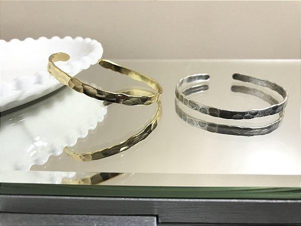 Bracelete Martelado