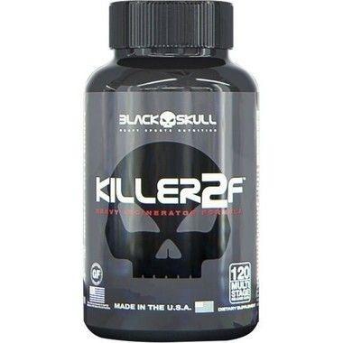 Killer 2F 120 Cápsulas - Black Skull