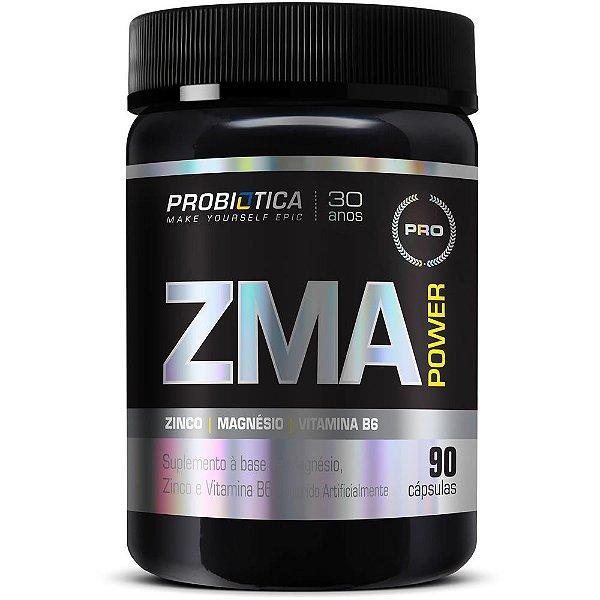 ZMA Power 90 Cápsulas - Probiótica
