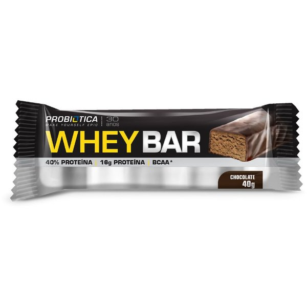 Whey Bar Low Carb 40g - Probiótica