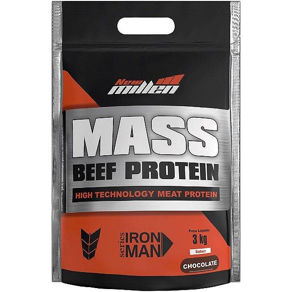 Hipercalórico Mass Beef Protein Refil 3kg - New Millen