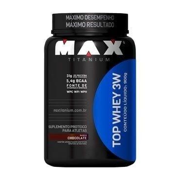 Top Whey 3W 900g - Max Titanium