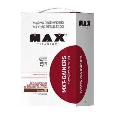 Hipercalórico MXT Gainers 3kg - Max Titanium