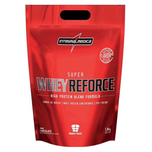 Super Whey Reforce Refil 1,8kg - IntegralMédica