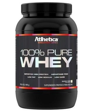 100% Pure Whey 900g - Atlhetica Nutrition