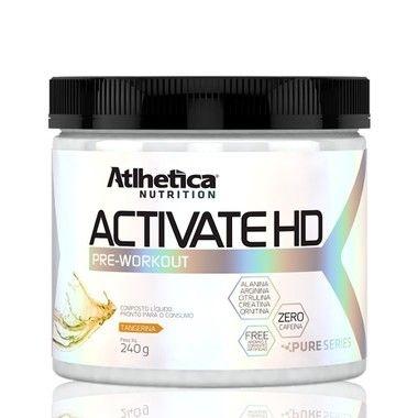 Pré Treino Activate HD 240g - Atlhetica Nutrition