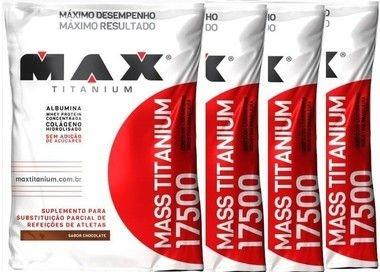 Kit Mass Titanium 17500 1,4kg - Max Titanium