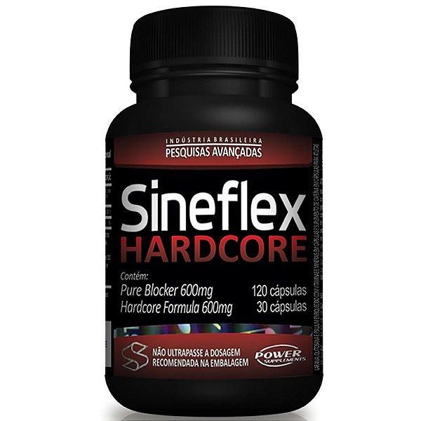 Sineflex Hardcore 150 Cápsulas - Power Supplements