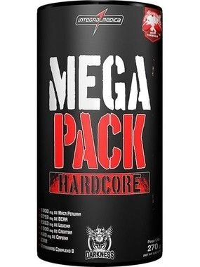 Mega Pack Hardcore 30 Sachês - IntegralMédica