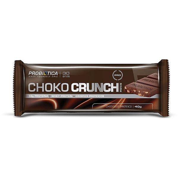 Barra de Proteína Choko Crunch Protein 40g - Probiótica