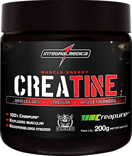 Creatine Creapure 200g - IntegralMédica