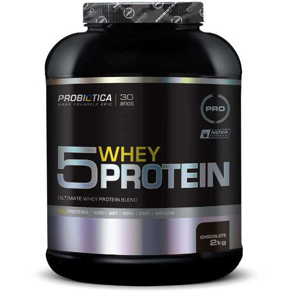 5 Whey Protein 2kg - Probiótica