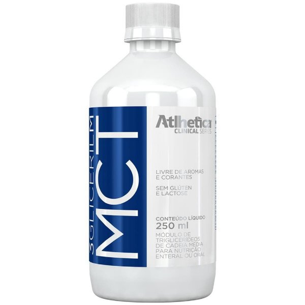 3 Gliceril MCT 250ml - Atlhetica Nutrition