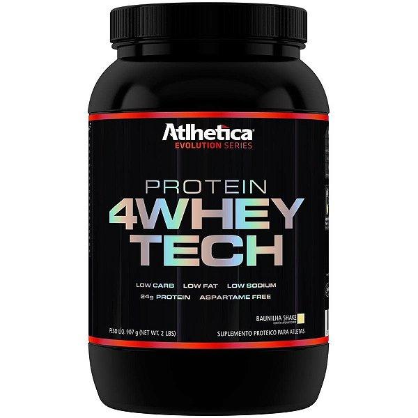 4 Whey Tech 907g - Atlhetica Nutrition