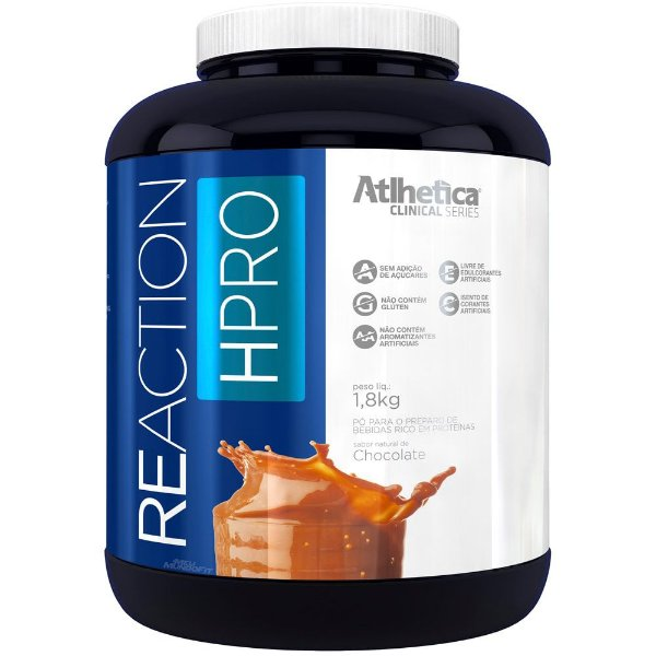 Reaction HPRO 1,8kg - Atlhetica Nutrition