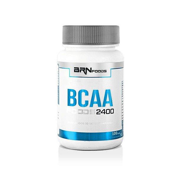 BCAA Foods 2400 100 Cápsulas - BRN Foods