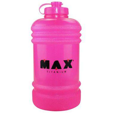 Galão Body Size Rosa 2,2 L - Max Titanium