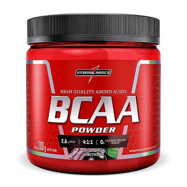 BCAA Powder 4:1:1 200g - IntegralMédica