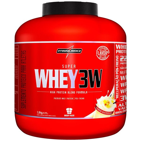 Super Whey 3W 1,8kg - IntegralMédica