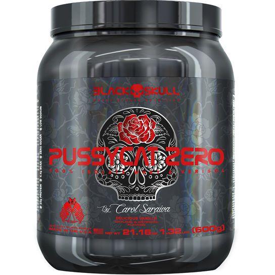 Pussycat Zero Whey 600g - Black Skull
