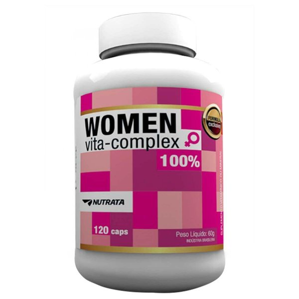 Women Vita Complex 120 Cápsulas - Nutrata