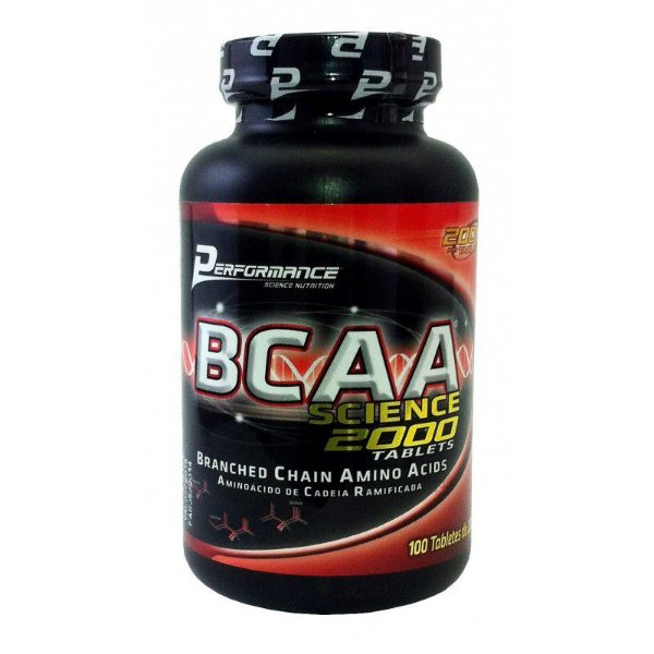 BCAA Science 2000 100 Tabletes - Performance Nutrition
